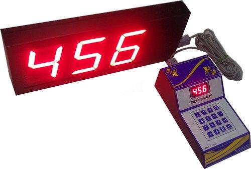 3 Digit Token Calling Display System