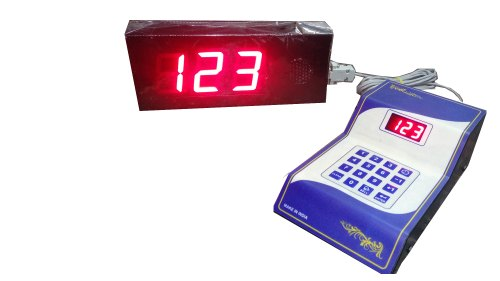 Bank Token Number Display System
