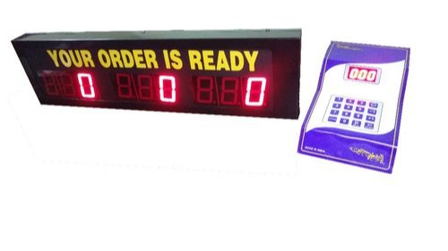 Food Counter Token Display System