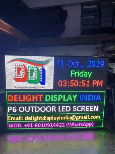 P6 Outdoor LED Display Screen