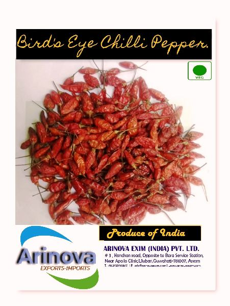 Dried Birds Eye Chilli