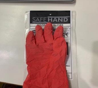 Red Household Gloves