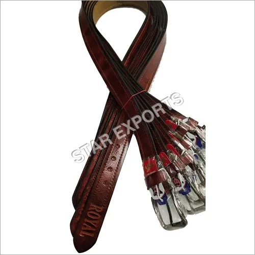 Mens Brown Leather Belts
