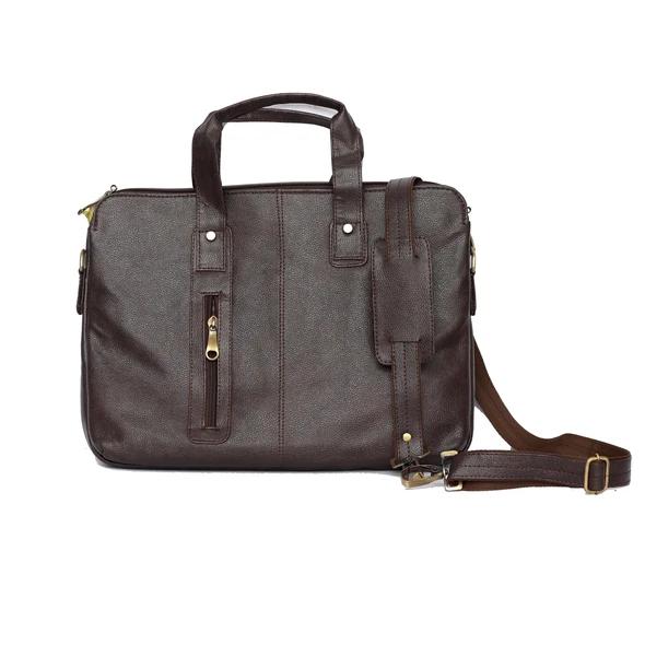 Chandler Leather Briefcase