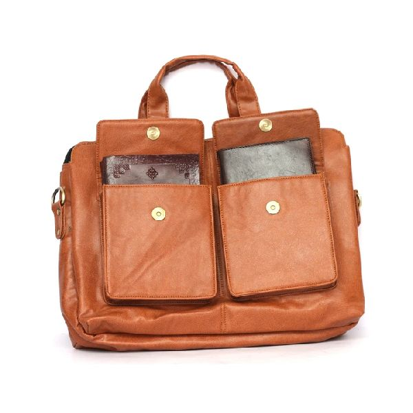 Jady Leather Briefcase
