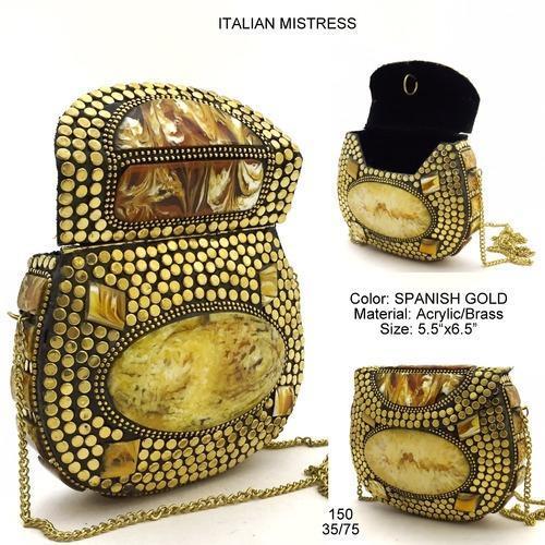 Designer Metal Bag