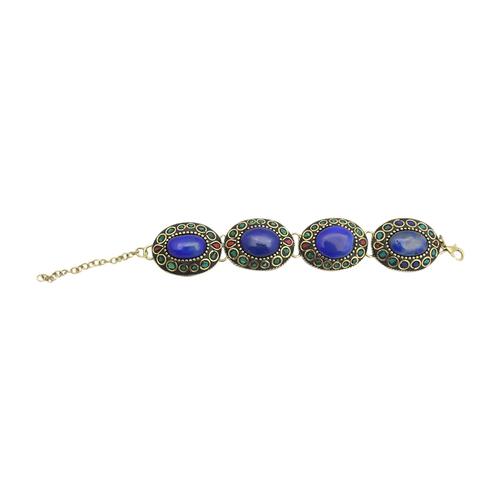 Brass Stone Bracelet