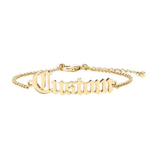Customised Handmade English Name Bracelet