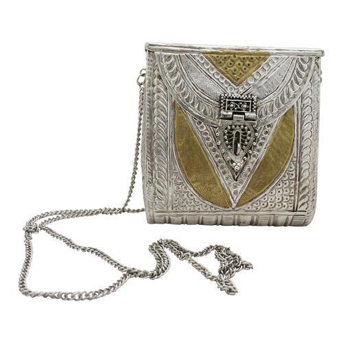 Engraved Metal Bag