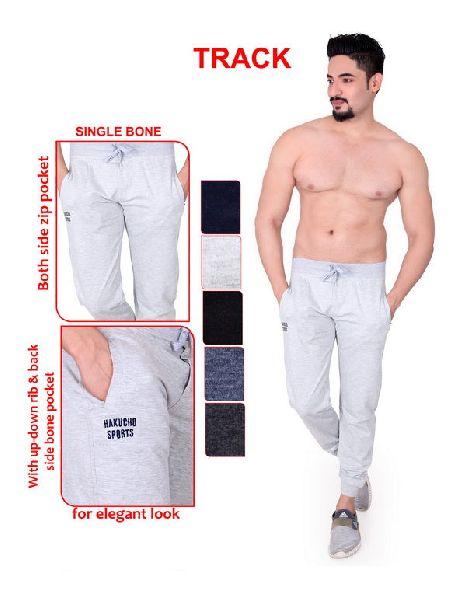 Mens Hosiery Plain Jogger Pant