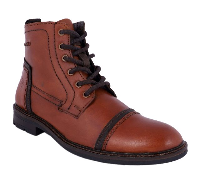 Mens Genuine Leather Boots