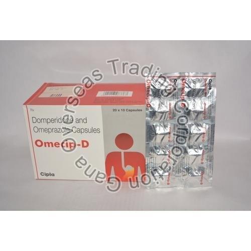 Omecip-D domperidone & omeprazole Capsules