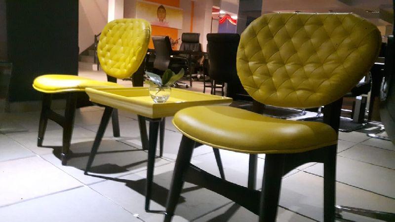 Cushioned Wood Chair