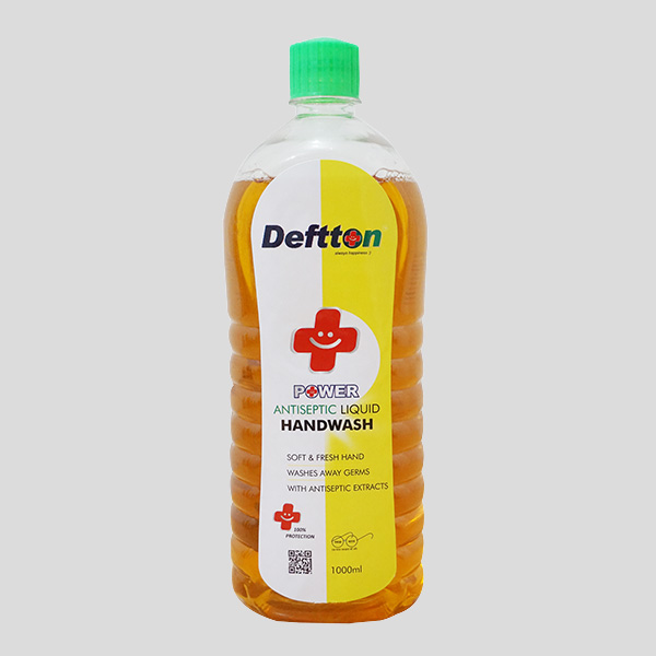 1000ml Deftton Antiseptic Hand Wash Liquid