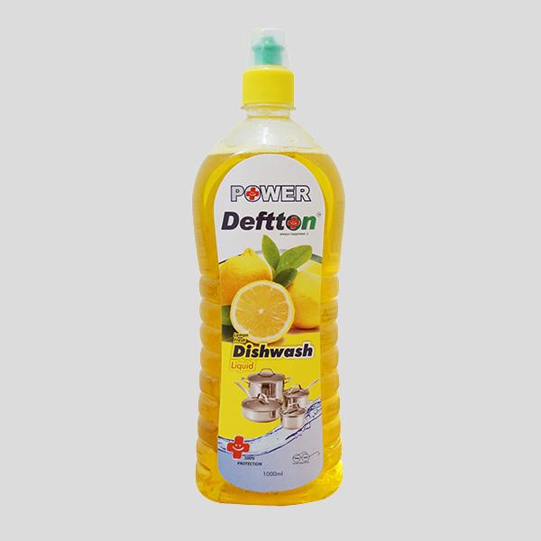1000ml Deftton Lemon Dish Wash Liquid