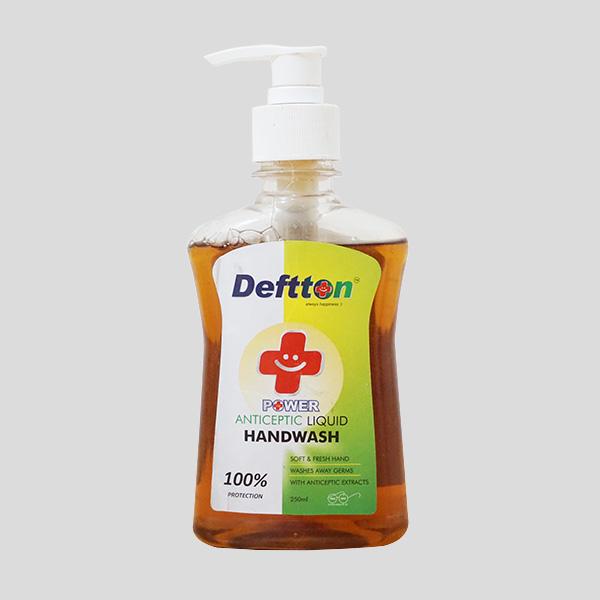 250ml Deftton Antiseptic Hand Wash Liquid