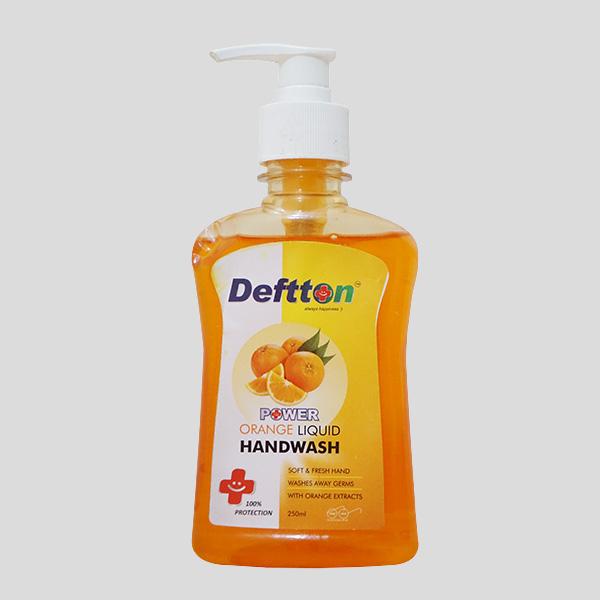 250ml Deftton Orange Hand Wash Liquid