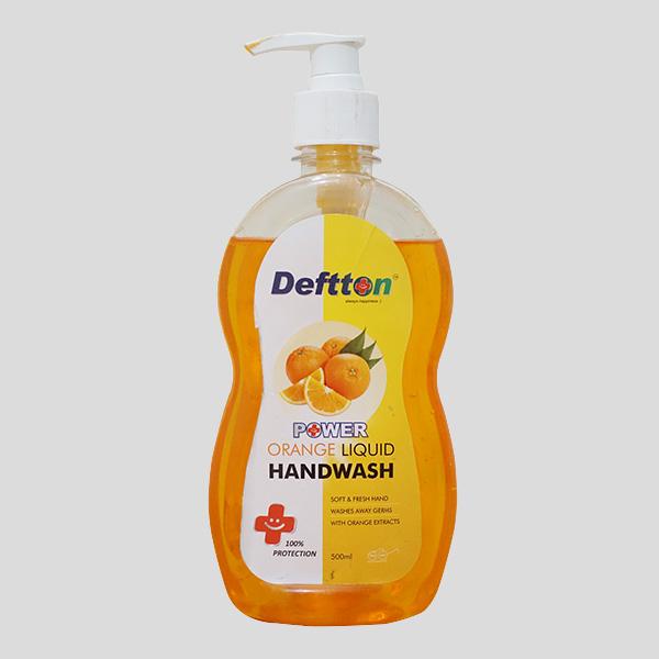 500ml Deftton Orange Hand Wash Liquid