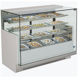 Stainless Steel Suqare Sweet Display Counter