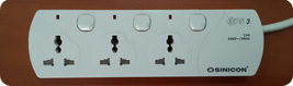 Multiple Switch Universal Socket