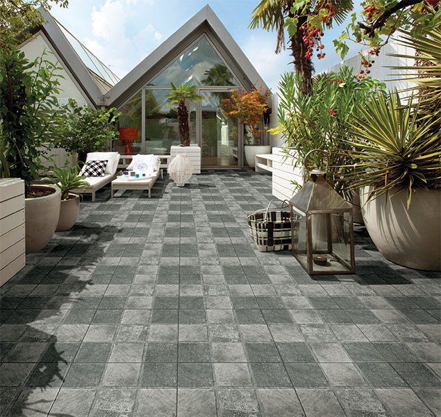 Exterior Wall Tiles Designs Indian Houses Single Floor: Kajaria Porch Tiles Exporters In Bathinda Punjab India By