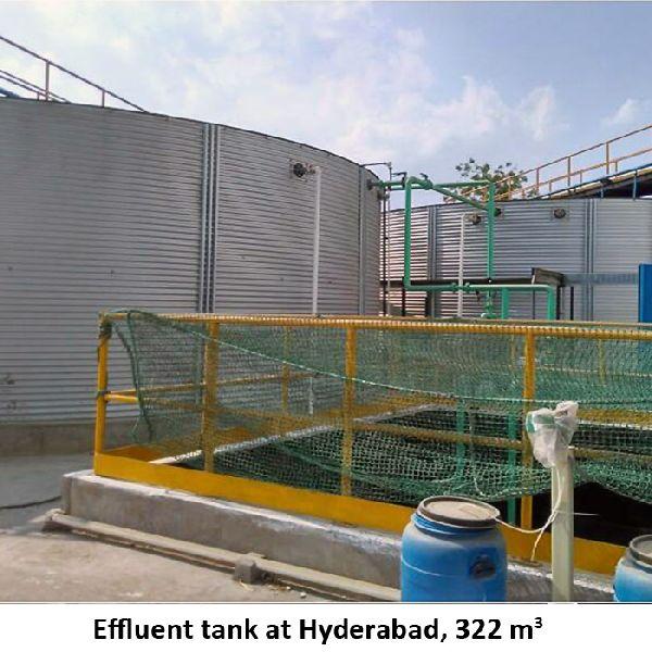 Zincalume Steel Water Storage Tank