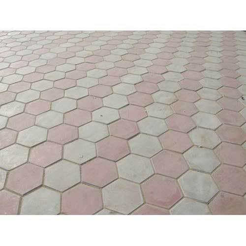 interlocking cemented bricks and paver blocks