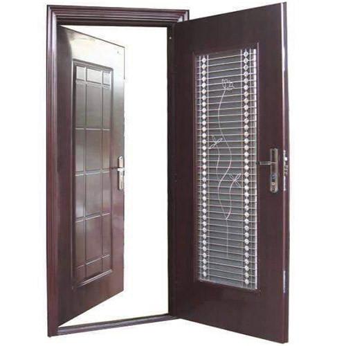 Hinged Twin Security Door