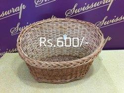 Round Cane Basket