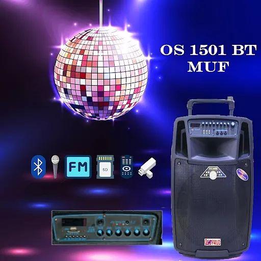 OS 1501 BT MUF Trolley Speaker