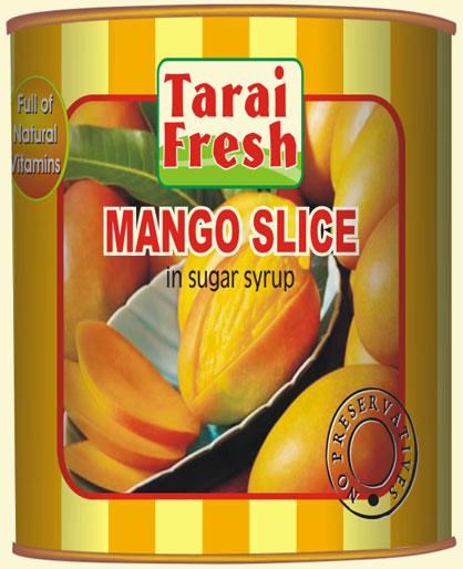 Mango Slice In Sugar Syrup