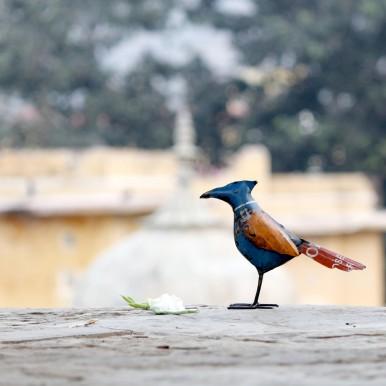 Handmade Bird Statue