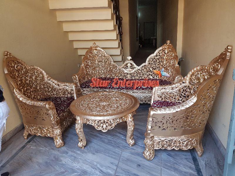 Antique Wooden Sofa Set Manufacturer In Uttar Pradesh India By Star Enterprises Id 5413818