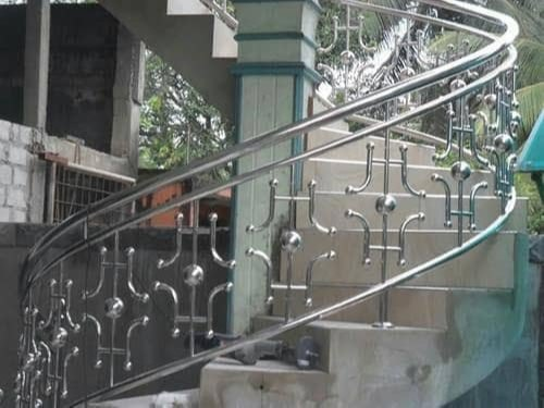 Stainless Steel Stair Railing Buy Stainless Steel Stair Railing For Best Price At Inr 550 Feet Approx