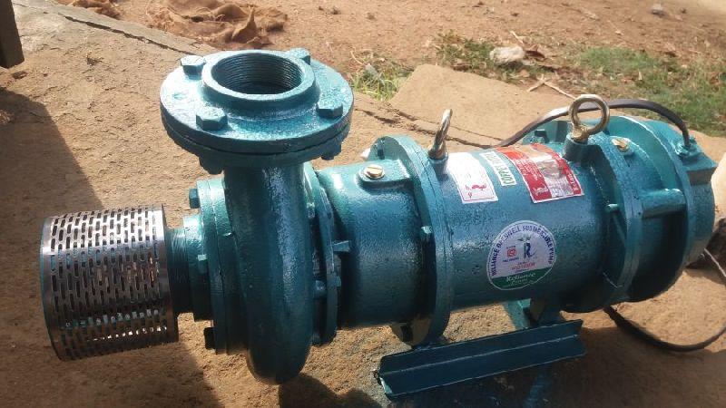 V8 Horizontal Open Well Submersible Pump Set