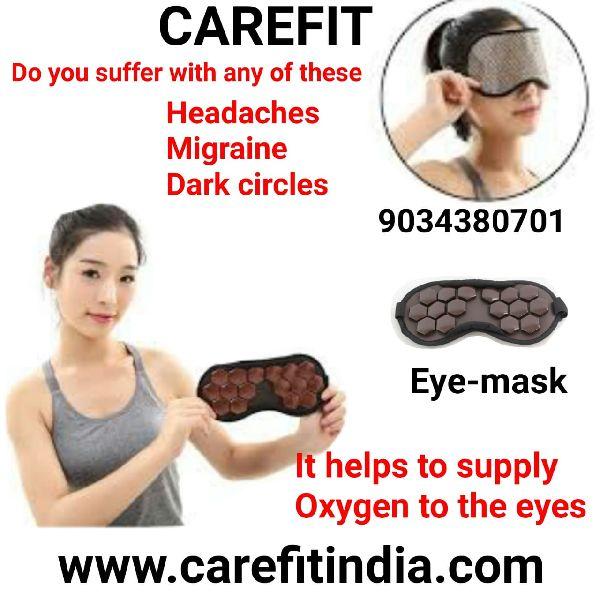 Korean Tourmaline Eye Mask Sleep Cover Cooling