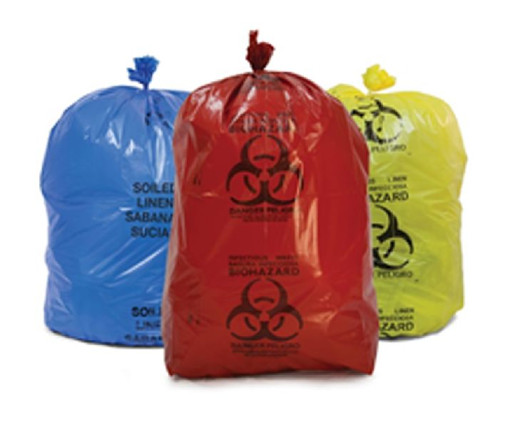 Biohazard Garbage Bags