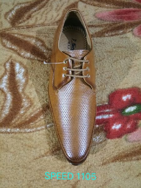 Synthetic Leather Formal Lace Shoes