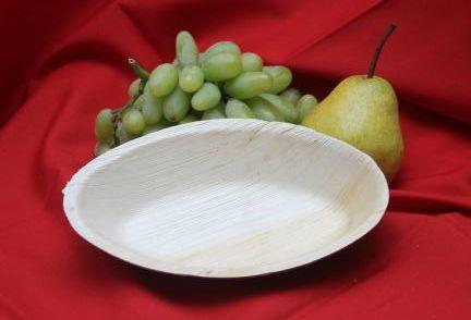 Areca Leaf Oval Bowl