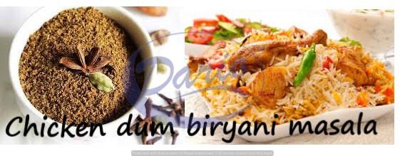 Chicken Dum Biryani Masala