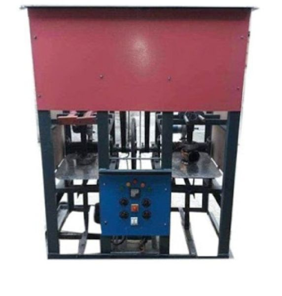 Double Die Paper Plate Making Machine (single dai 65000 rs)