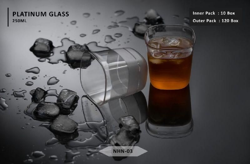 Platinum Drinking Glasses