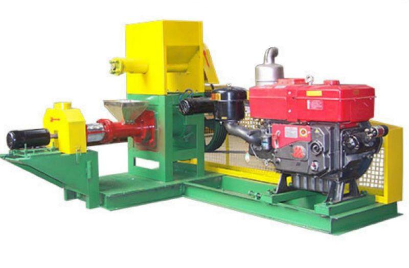 Diesel Engine Floating Fish Feed Pellet Machine