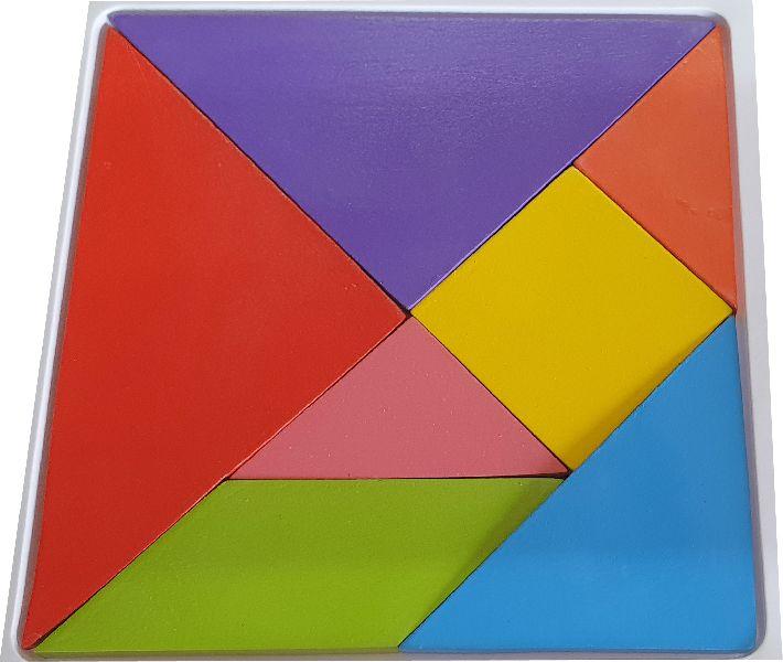 Wooden Tangram Puzzle (LTP-01)