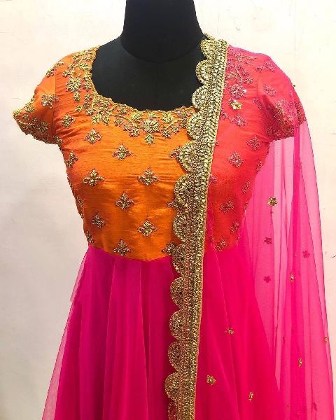 Ladies Embroidered Gown