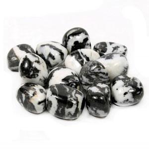 Agate Zebra Tumbled Stone