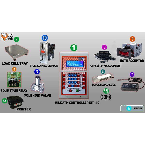 Milk ATM Controller Kit-4C