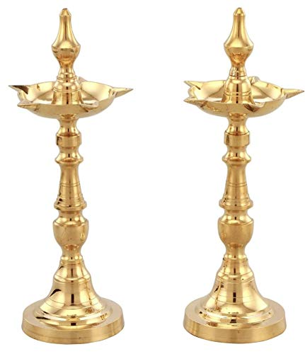 Brass Samai Diya