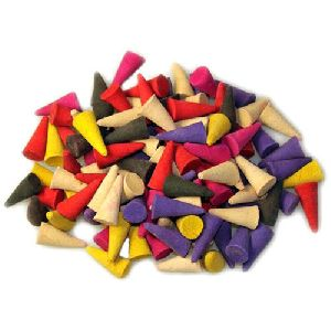 Colour Dhoop Cone