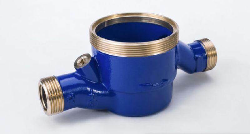 Brass Multi Jet Water Meter Body